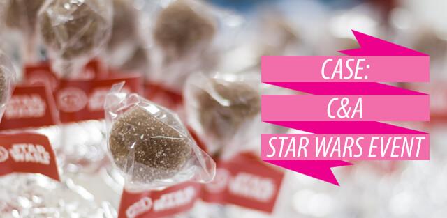 C&A Case, Star Wars Event met Cake pops