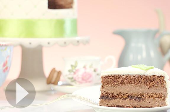Chokolade-taart