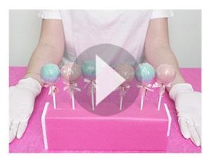 Zo maak je een cake-popstand uit de verpakking