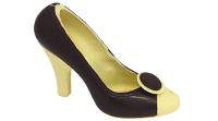 Zwart-witte schoen