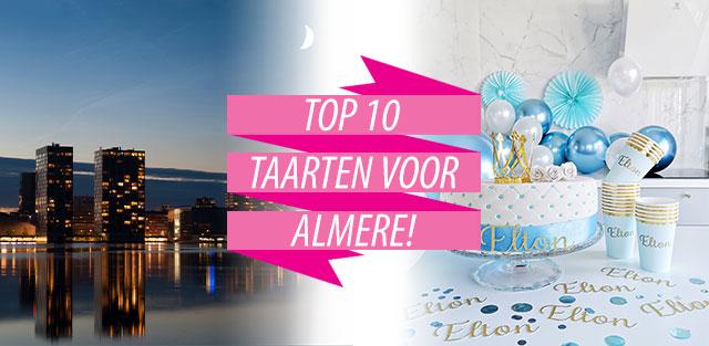 Bestel taarten naar Almere!