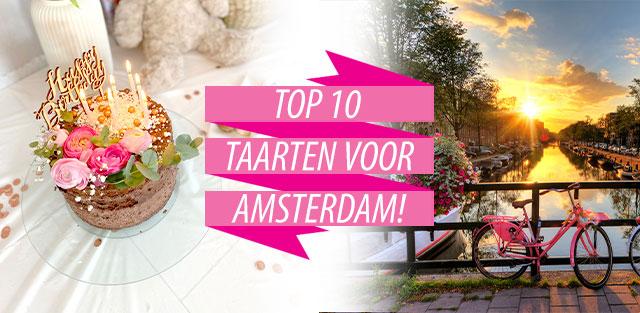Bestel taarten naar Amsterdam!