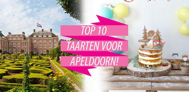 Bestel taarten naar Apeldoorn!