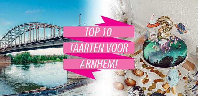 Bestel taarten naar Arnhem!
