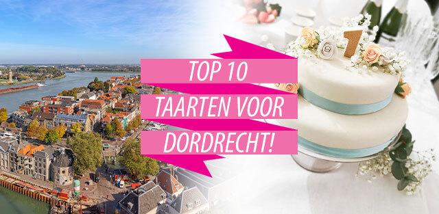 Bestel taarten naar Dordrecht!