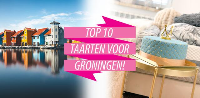 Bestel taarten naar Groningen!