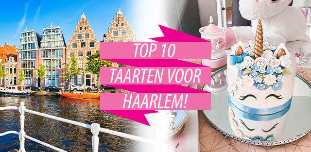 Bestel taarten naar Haarlem!