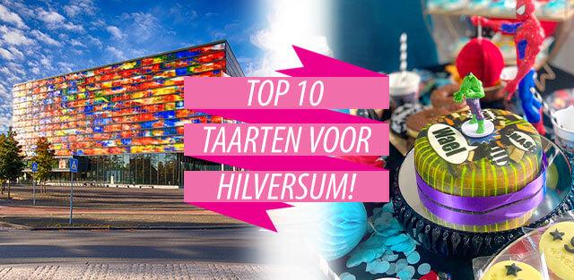 Bestel taarten naar Hilversum!