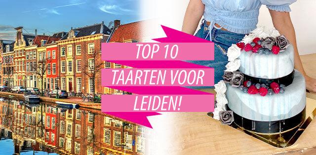 Bestel taarten naar Leiden!