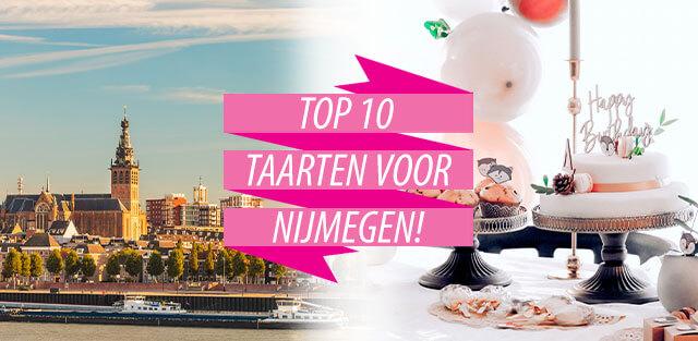 Bestel taarten naar Nijmegen!