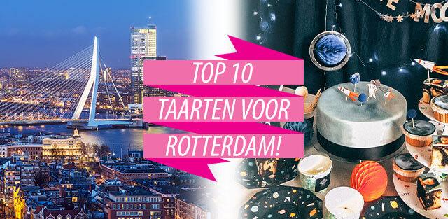 Bestel taarten naar Rotterdam!