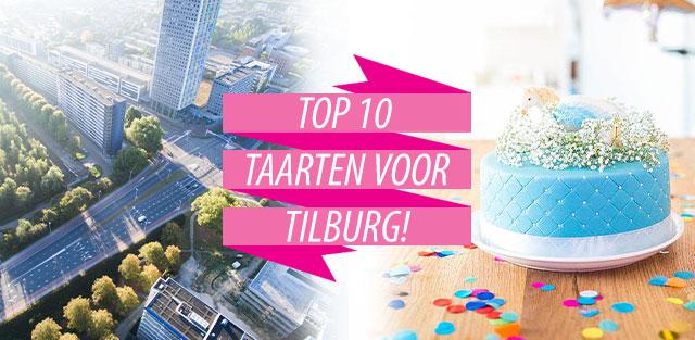 Bestel taarten naar Tilburg!