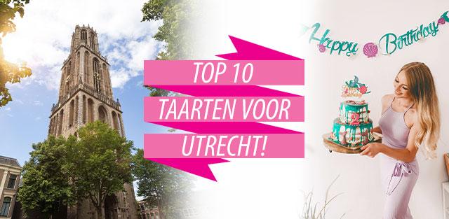 Bestel taarten naar Utrecht!