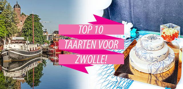 Bestel taarten naar Zwolle!