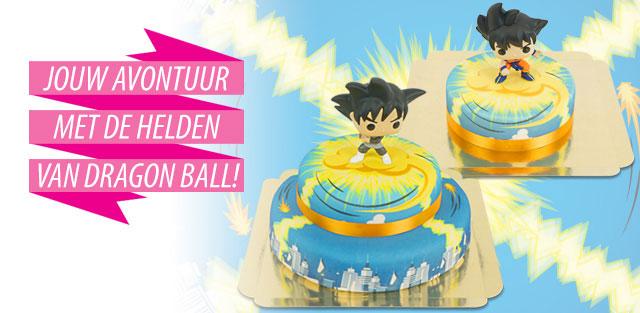 Dragon Ball op taarten