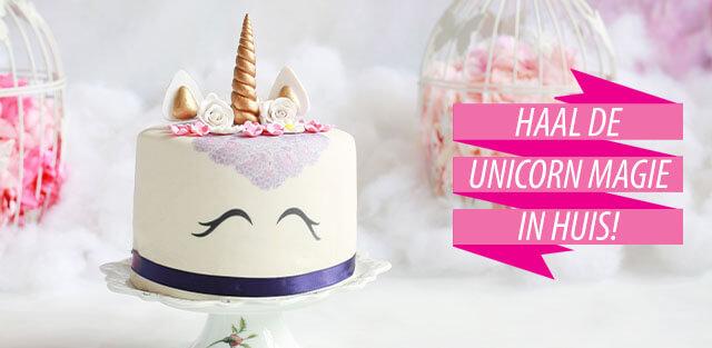 Unicorn taarten
