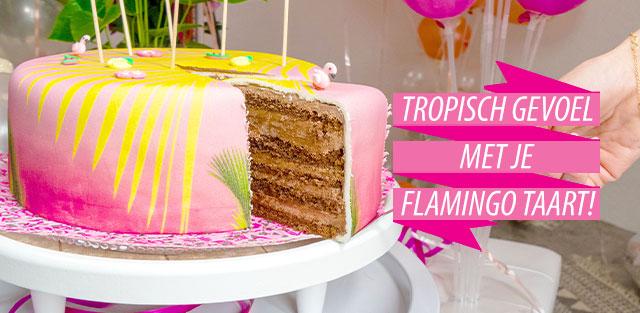 Flamingo taarten