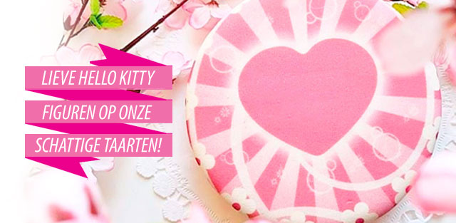 Hello Kitty op taarten