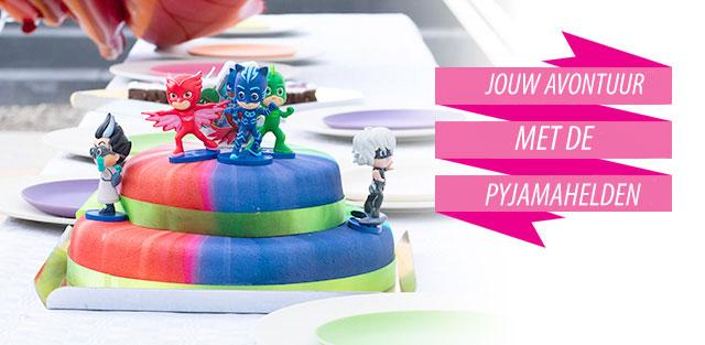 PJ Masks helden op taarten