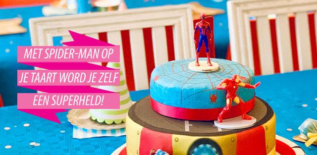Spider-Man op taarten online bestellen