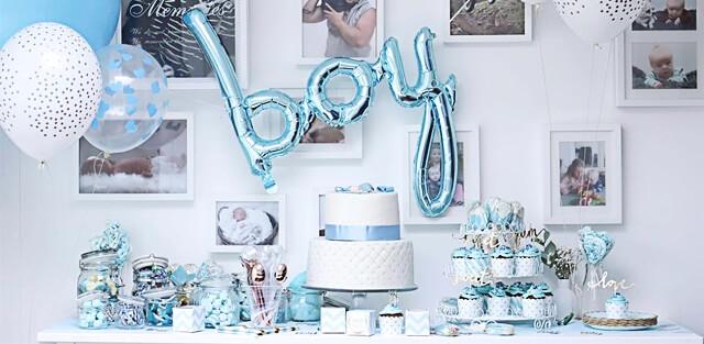 Verjaardagstaart voor jongens