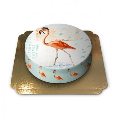 Flamingo taart van Pia Lilenthal