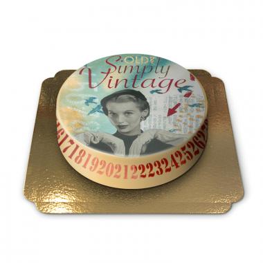 Vintagetaart van Pia Lilenthal