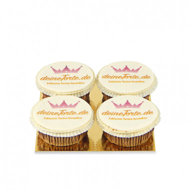 Logo-Cupcakes (4 stuks)