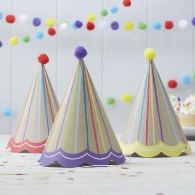 Deco set ''Gekleurde verjaardag''