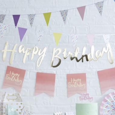 Deco-set ''Verjaardag met punten''