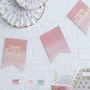 """Deco-set """"Roze verjaardag"""""""