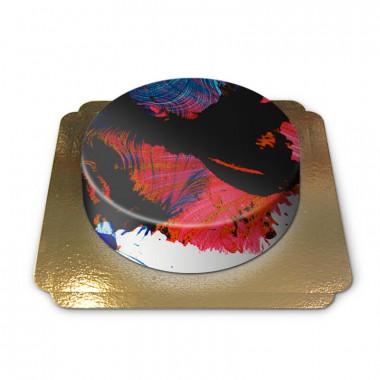 Abstracte-taart