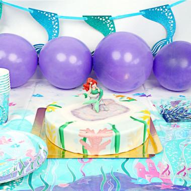 Zeemeermin party set incl. taart