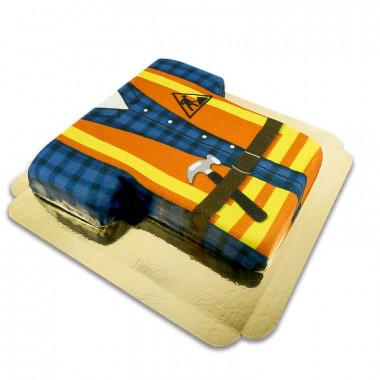 Bouwvakker taart