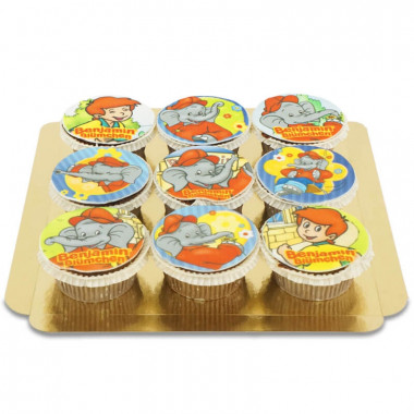 Benjamin de olifant cupcakes