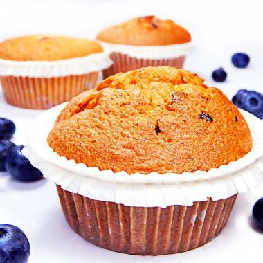 Bosbessen-muffins, 9 stuks