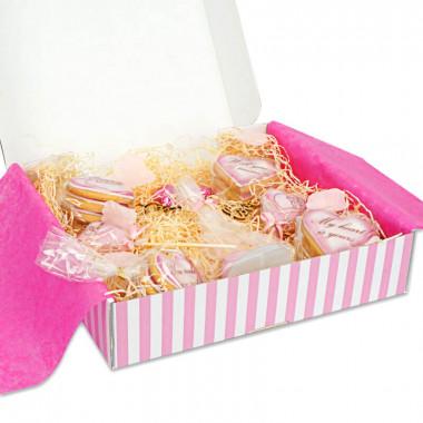 Valentijnsdaggeschenkdoos - Roze