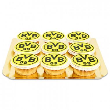 BVB - Cupcakes, 9 Stuks
