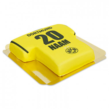 BVB - Gele Shirt Taart