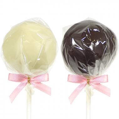 Cake-pops met vanille & chocolade (12 stuks)