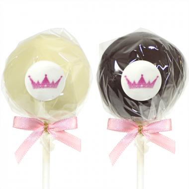 Logocake-pops met vanille & chocolade (12 stuks)