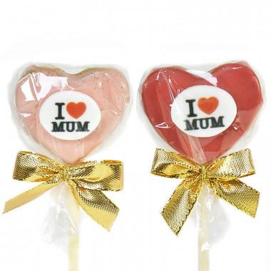 ''I Love Mum'' Cake Pops
