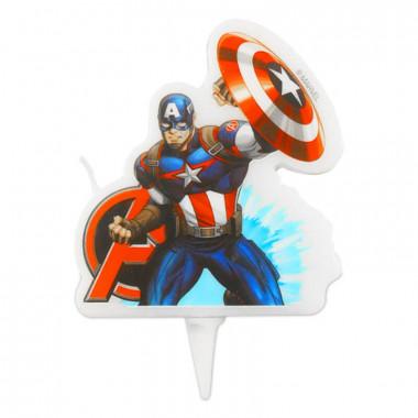 Captain-America-taartkaars