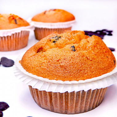 Chocolate-Chip-Muffins, 9 stuks