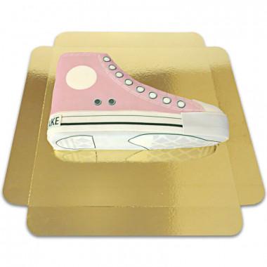 Roze Sneaker taart