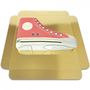 Rode Sneaker Taart