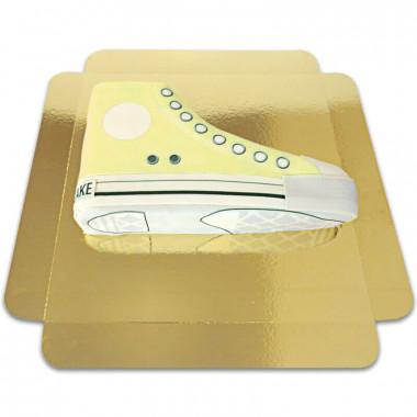 Gele Sneaker taart