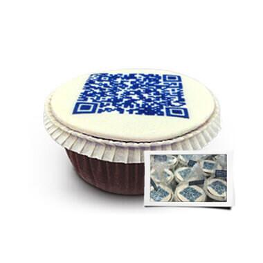 QR-Code-Cupcakes - Individueel verpakt