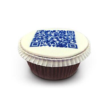 QR-Code-Cupcakes (vanaf 9 stuks)
