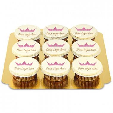 Logo-Cupcakes ( vanaf 9 stuks)